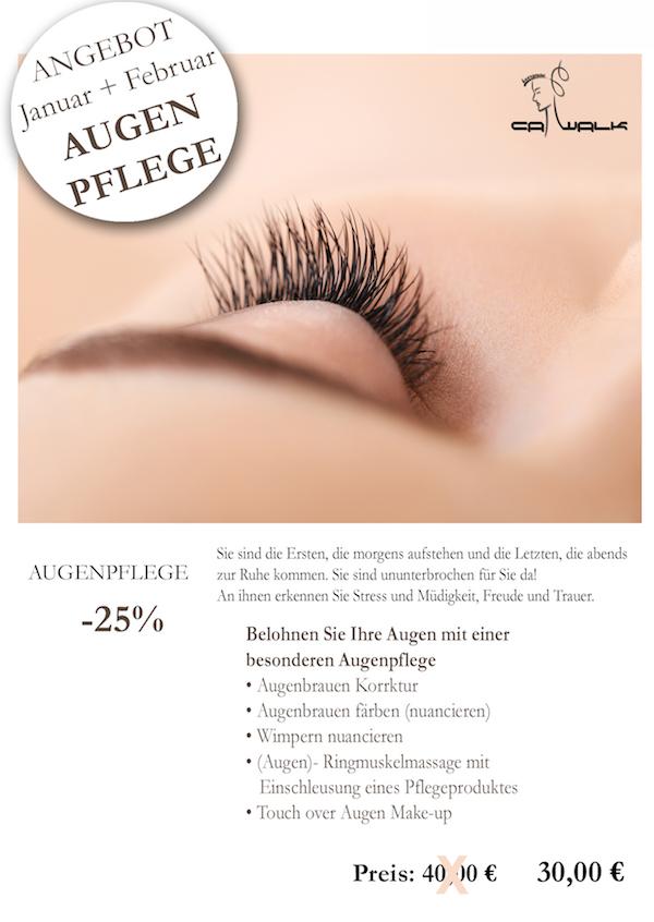 Angebot Kosmetik Augenpflege